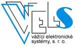 Logo společnosti VELS vážící elektronické systémy s.r.o.