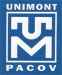 Logo UNIMONT Pacov spol. s r.o.